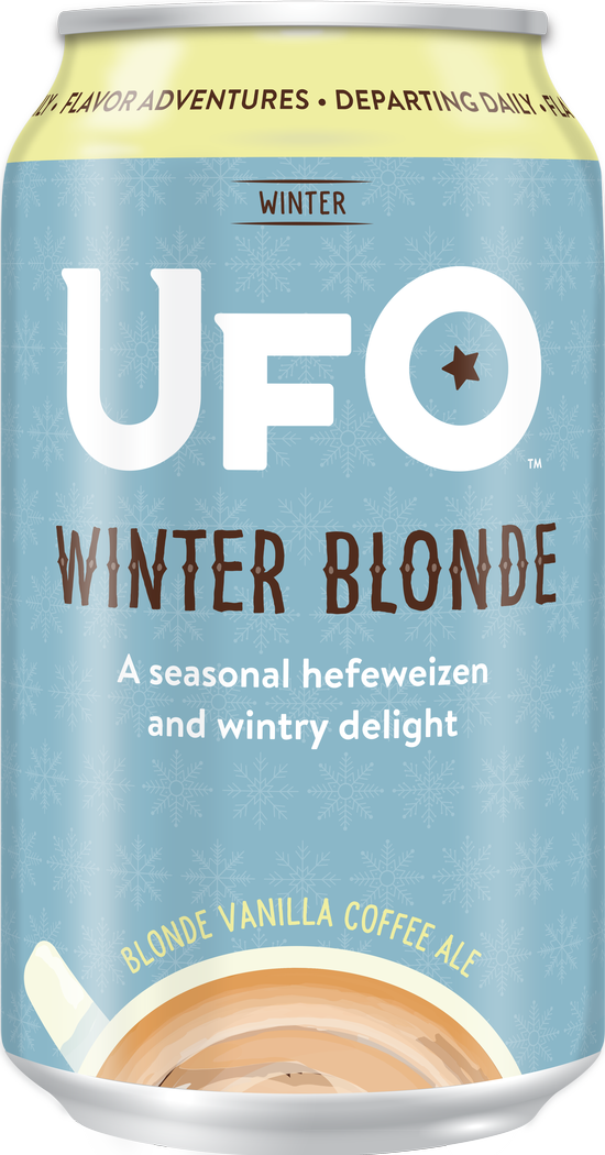 UFO Winter Blonde 12 oz can